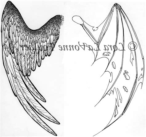 glow in the dark angel wings tattoo dark angel wing tattoos back gallery dark angel wings