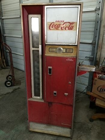 Sle Letter For Vendo Machine Cavalier Coke Machine Cs 96d Collectors Weekly