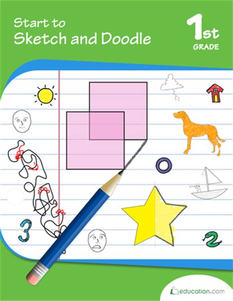 start doodle start to sketch and doodle workbook education