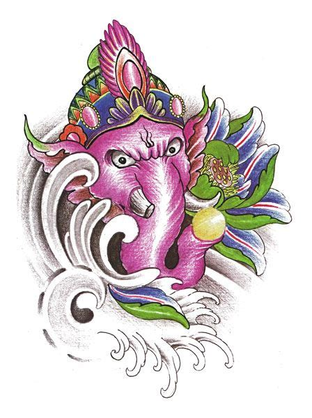 ganesha tattoo flash 27 best ganesh images on pinterest ganesh tattoo flash