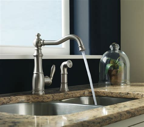 vintage kitchen faucets set up the homy design