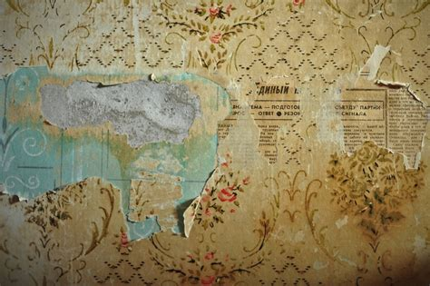 peel off wallpaper peeling russian wallpaper faded glory weathered