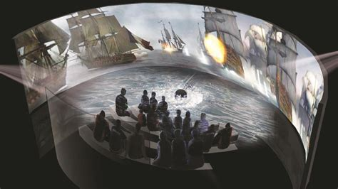 Curved Wall museums test new technology interactive exhibits
