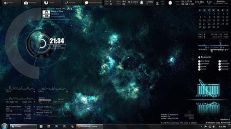 windows 7 desktop themes rainmeter what is rainmeter tecexpertz