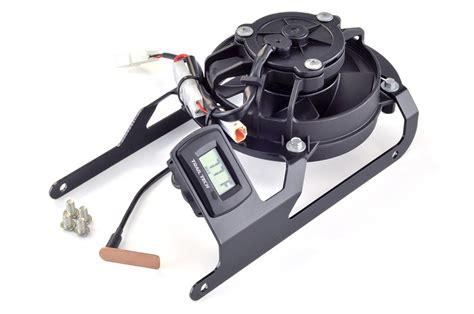 ktm cooling fan kit trail tech ktm digital fan kit and radiator guard bundle