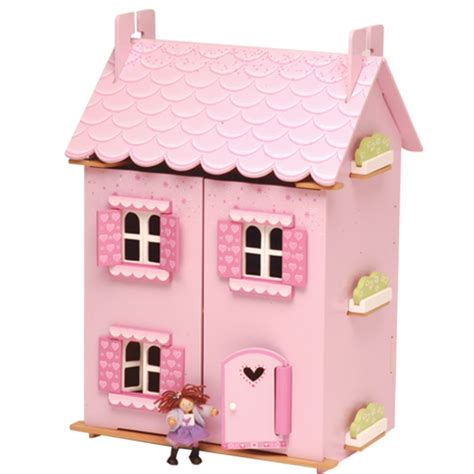 my house doll le toy van my first dream house doll house with furniture all round fun