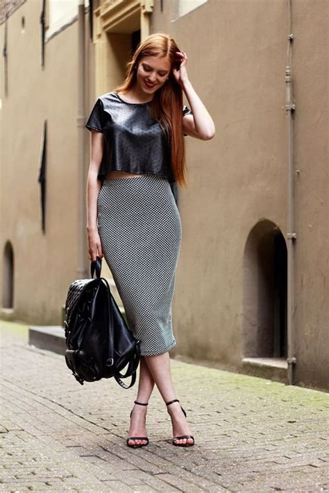 chic outfits       long pencil