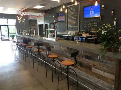 Concrete Countertops Raleigh by Concrete Bar Top Installed At The Compass Brewery In