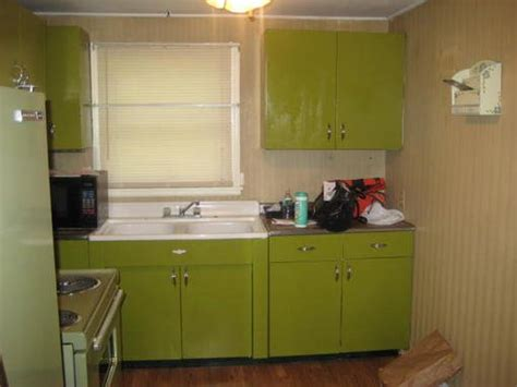 avocado green kitchen cabinets avocado green youngstown kitchen cabinets etc forum