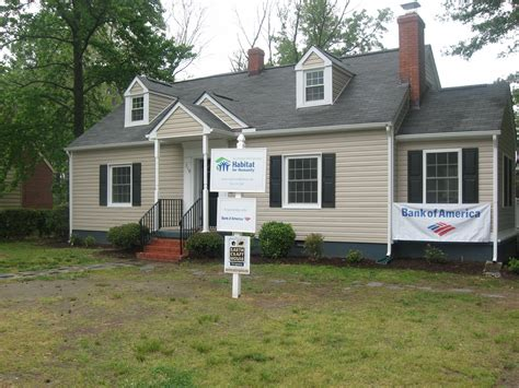 bank of america partners with richmond habitat to