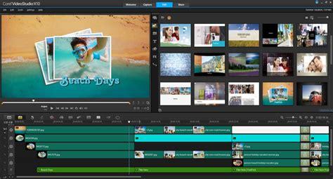 Corel Videostudio X10 Mit Transparenten Spuren Masken Tempokontrolle Und 360 176 Fotointern Ch Corel Videostudio X10 Templates Free