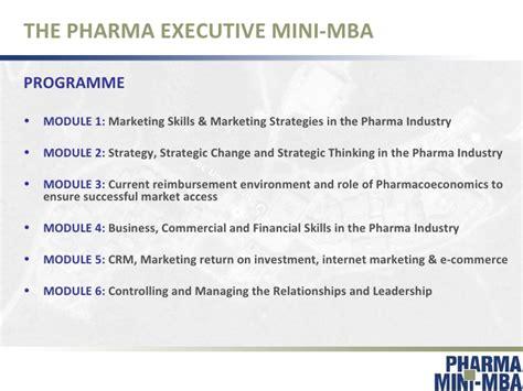 Pharma Mba by Pharma Executive Mini Mba