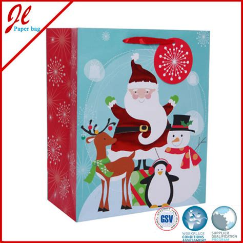 china large cheap christmas craft gift paper bags china