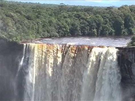 tears drop is a waterfall kaieteur guyana the highest single drop waterfall in the