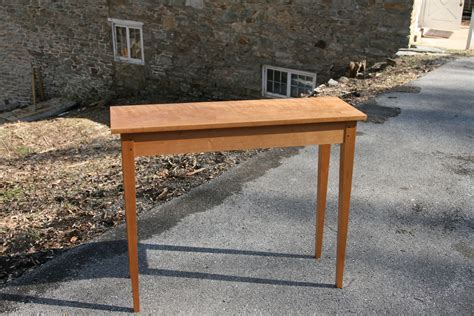 Shaker Style Sofa Table by Buy A Crafted Shaker Style Sofa Entry Table Made