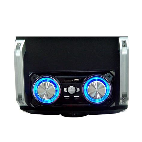 Speaker Portable Bass Remote Micro Sd Mp3 Fleco F 1308 Army blackmore bbx 500 portable lified audio bluetooth mp3 usb sd speaker system ebay