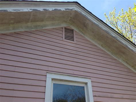 mold on side of house venting a dryer or bathroom fans in an attic creates mold painting in partnership