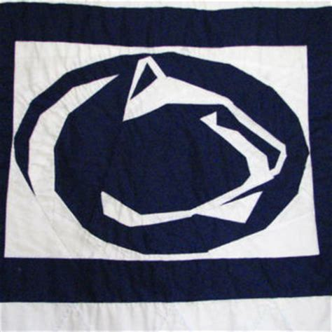 pattern paper los angeles penn state nittany lion paper piecing from