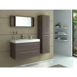 meuble de salle de bain simple vasque caf 233 achat vente