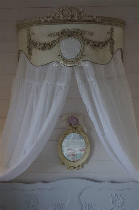 ciel de lit romantique et shabby chic le grenier d