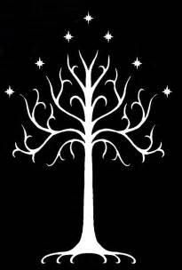 white tree the white tree of gondor decorating