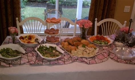 table foods for baby baby shower food table baby shower