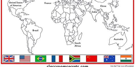 flags of the world quiz ks2 world map activities ks2 images word map images and download