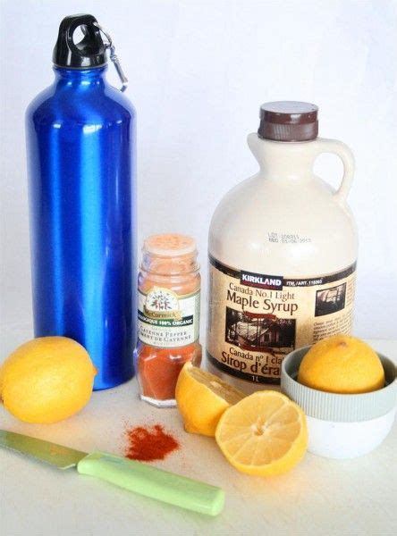 Master Detox Syrup Lemon Cayenne by Masters Lemonade And Cayenne Peppers On