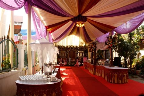 Tenda Untuk Pernikahan 10 contoh dekorasi tenda pernikahan di rumah terbaru