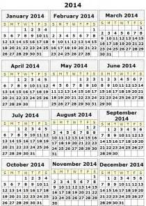 2014 12 Month Calendar Template by Printable 12 Month Calendar Template Calendar 2017 Printable