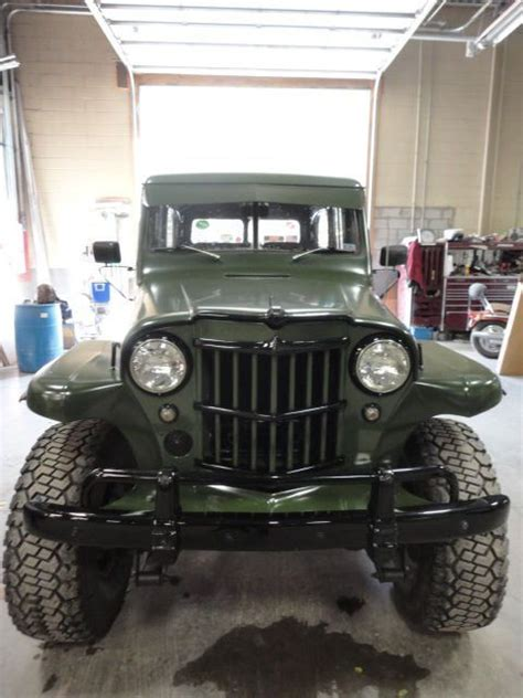 jeep wagon black willys jeep station wagon green black accents