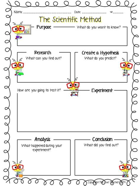 Design Your Own Experiment Worksheet | design your own experiment worksheet worksheets for all
