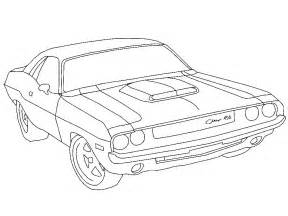 blank coloring pages cars dodge charger coloring pages camaro cars model coloring