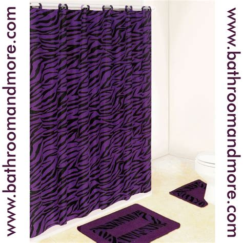 purple print curtains 8 best animal print bathroom decor images on pinterest