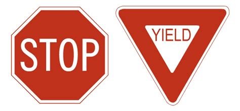 yield sign color yield sign means www pixshark images galleries