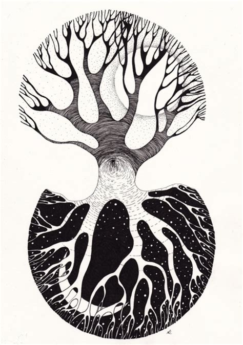 yin yang great tattoo idea neat tree inspired hm