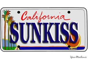 Buy Vanity Plates How To Buy A Personalized License Plate In California