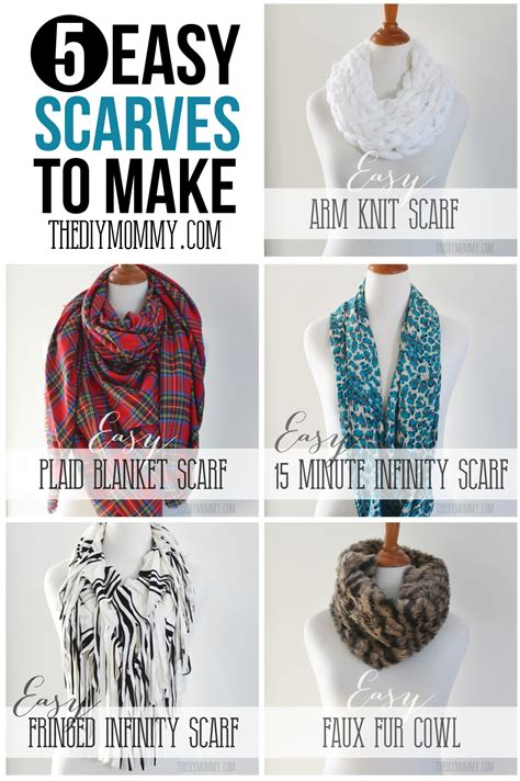 How To Make Handmade Scarves - make an easy no sew diy plaid blanket scarf the diy
