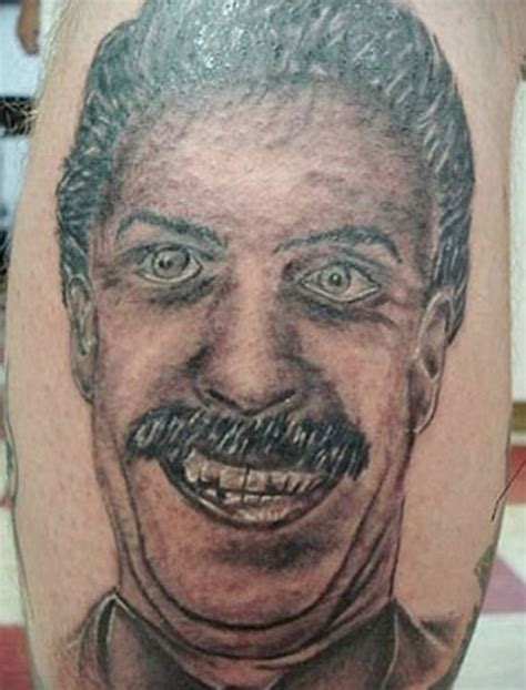 bad portrait tattoo bad tattoos 16 of the lame team jimmy joe