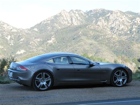 Best Four Door Cars by 2012 Fisker Karma During Road Test Los Angeles Feb 2012
