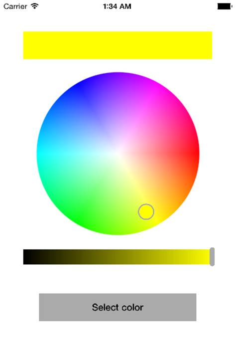 hsv color picker github johankasperi swifthsvcolorpicker simple hsv