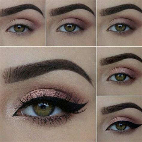 tutorial eyeliner in crema beauty makeup step by step eyeshadow look image