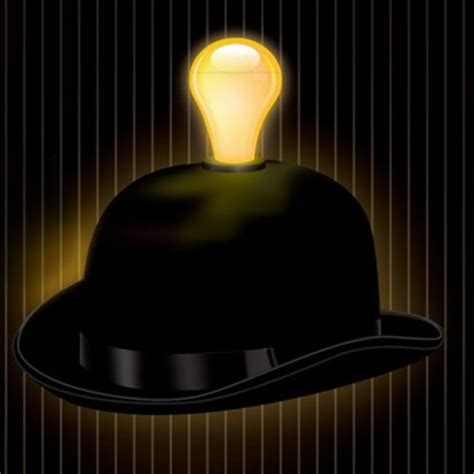 Term For Light Headed by Light Headed Bowler Hat With Led Light Bulb