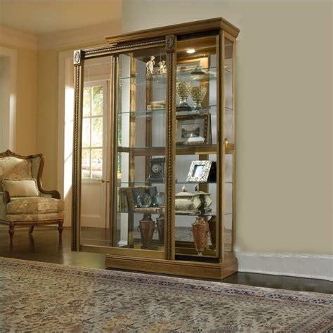 Pulaski Oak Curio Cabinet by Estate Oak Curio Cabinet 20484