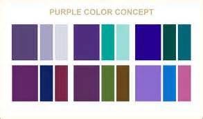 colors that go with colors that go well with purple wedding ideas
