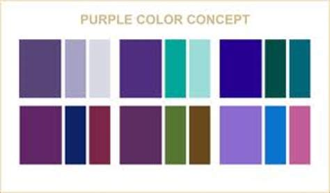 what color goes well with purple colors that go well with purple wedding ideas pinterest
