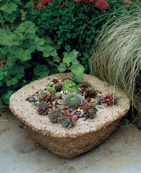 how to make garden containers make your own hypertufa container gardening