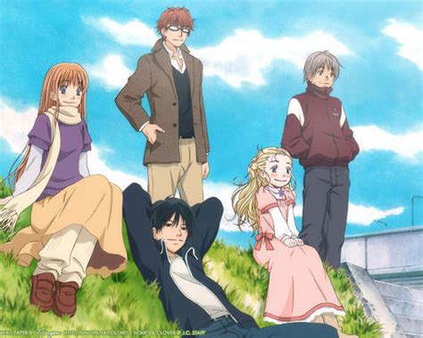 honey and clover jk s wing honey and clover anime review