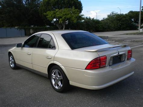 automobile air conditioning service 2002 lincoln ls lane departure warning purchase used 2002 lincoln ls v8 pearl cream metallic unbelievable gorgeous clean title in