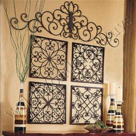 wrought iron decorations home wall designs wrought iron wall square wrought